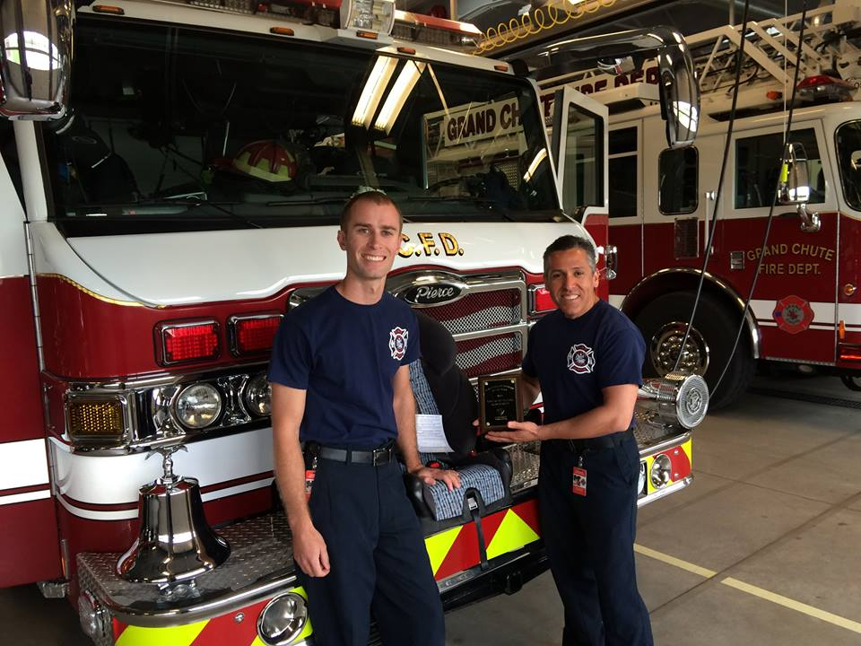 GCFD Car Seat Technicians The Grand Chute Fire Department