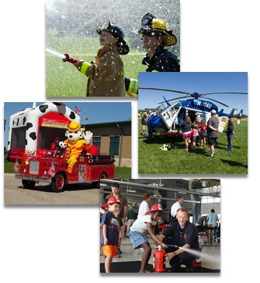 GCFD Safety Day Collage